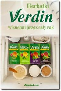 Herbatki Verdin fix w kuchni przez cały rok