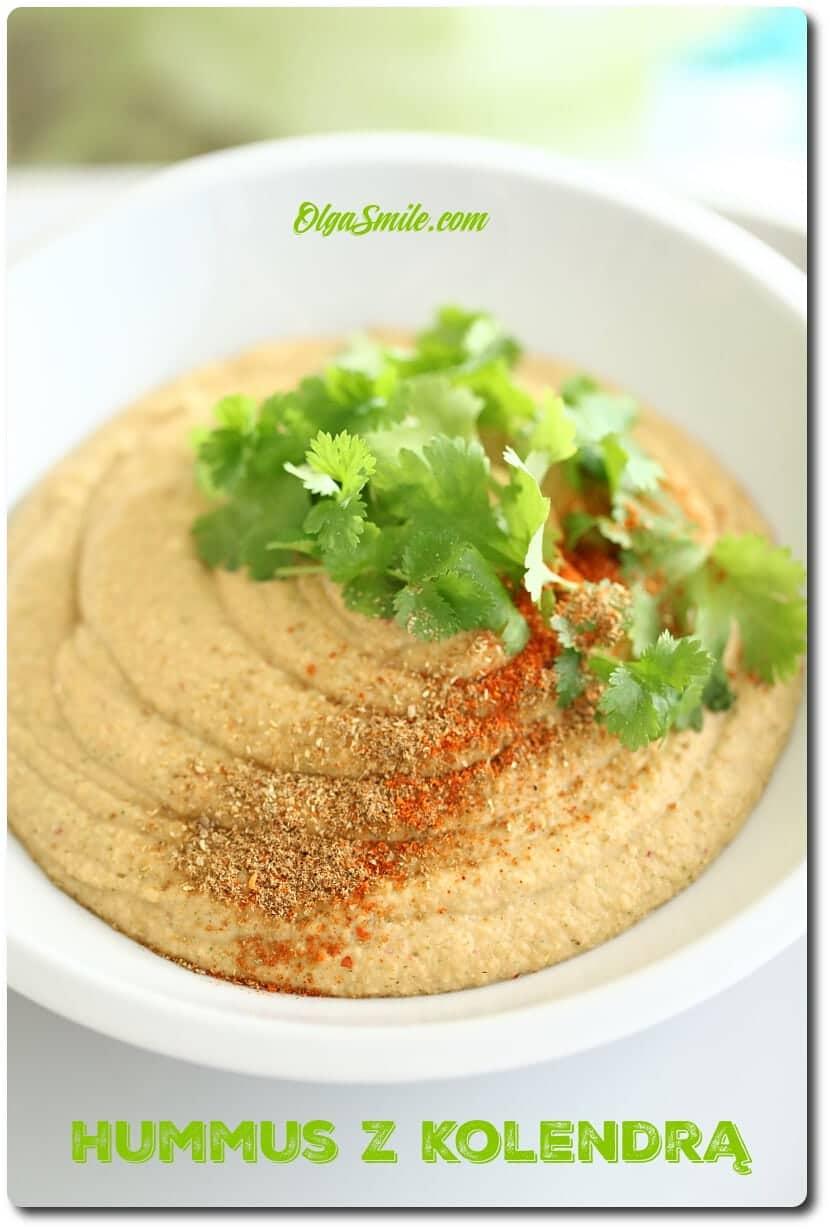Hummus z kolendrą