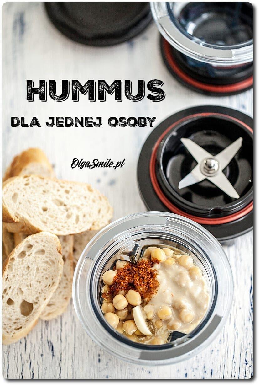 Hummus dla 1 osoby