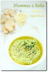 Hummus z bobu