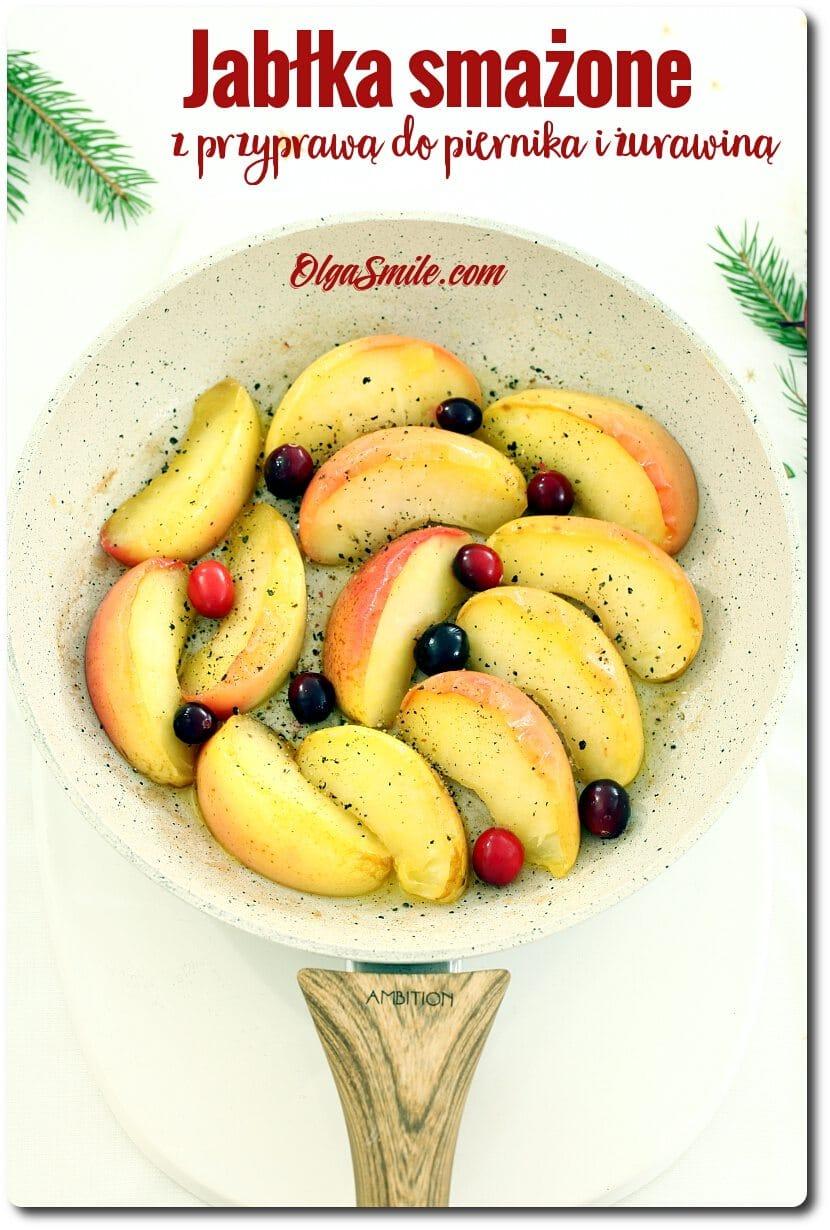 Jabłka smażone