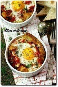 Jajka zapiekane