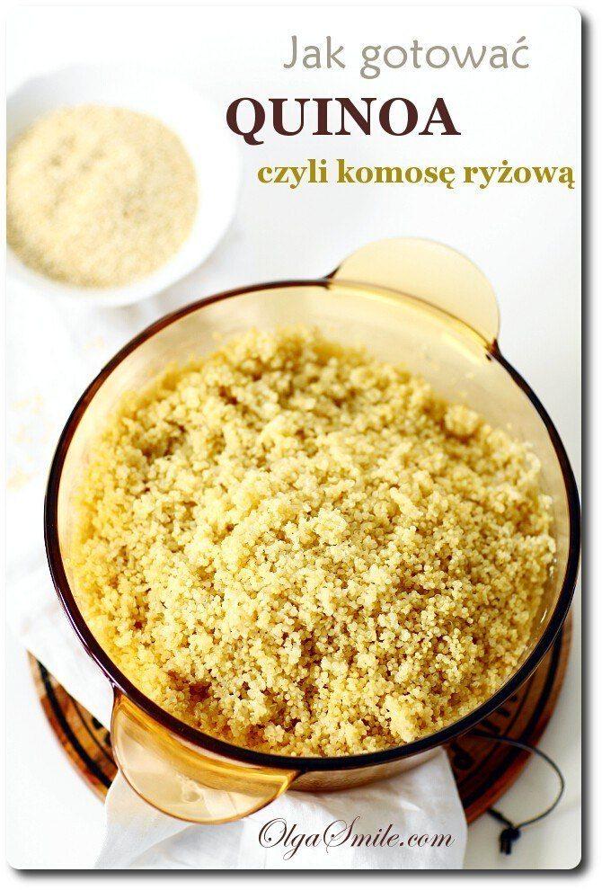 Jak gotować quinoa