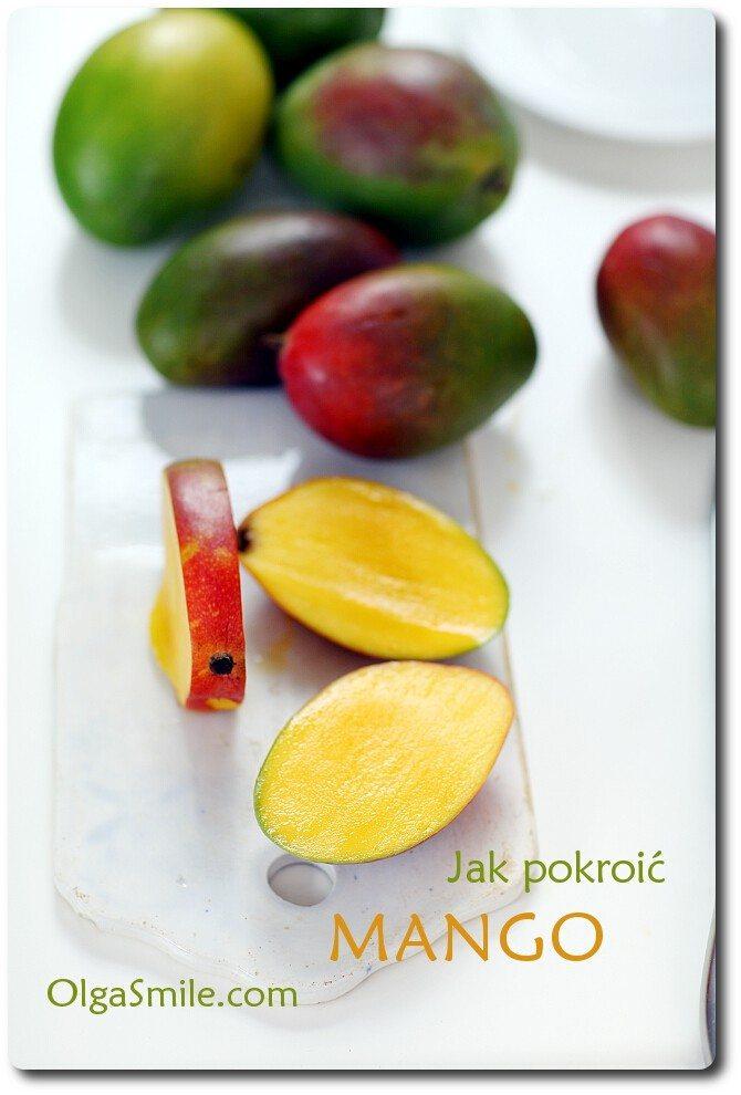 Jak pokroić mango