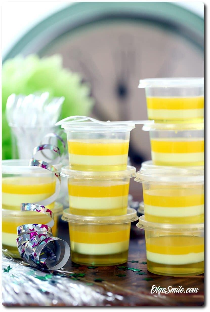 Jelly shotz ananasem