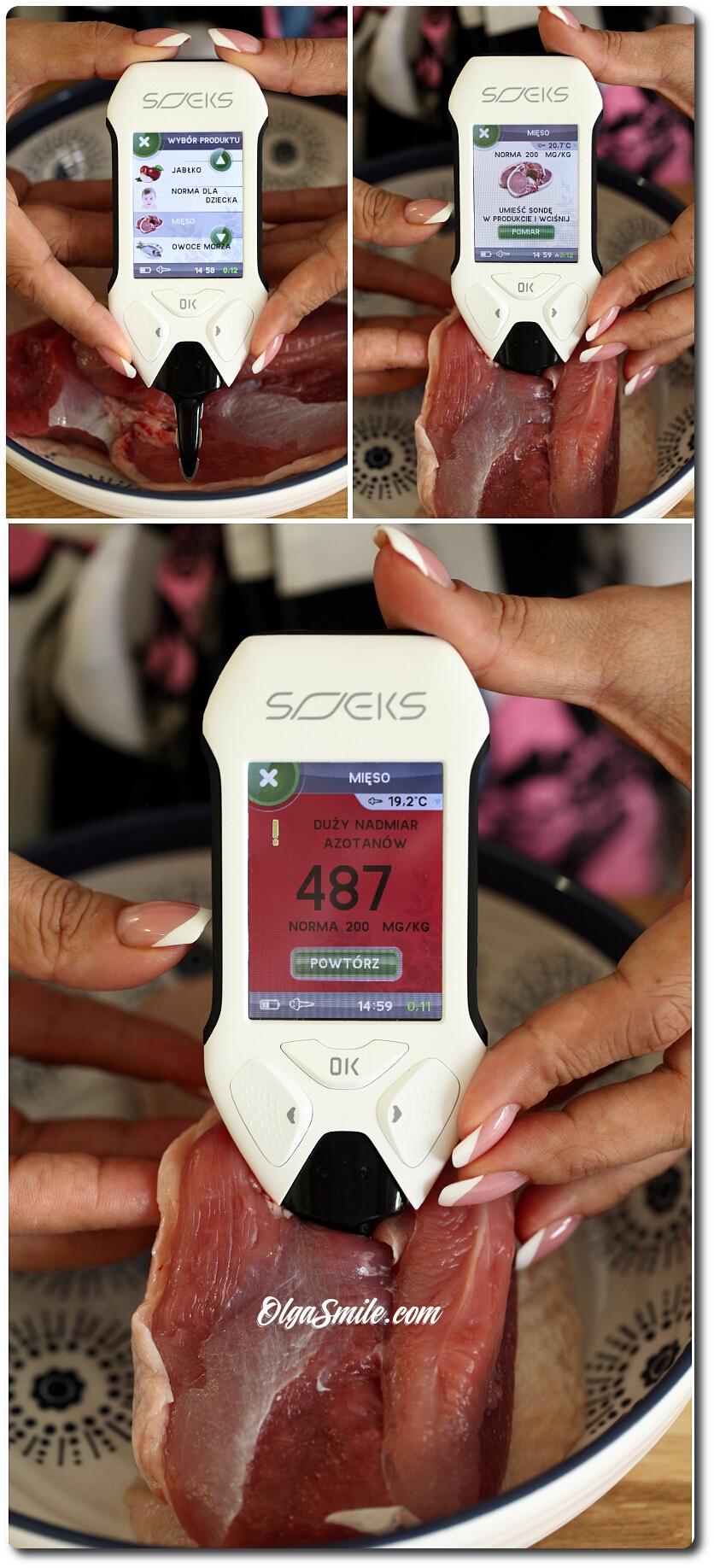 Tester do żywności Soeks Ecovisor F4
