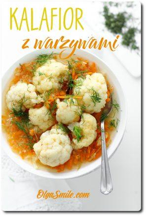 Kalafior z warzywami