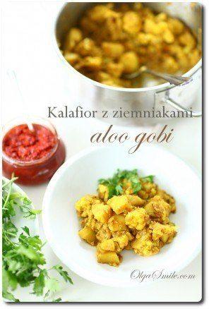 Kalafior z ziemniakami aloo gobi