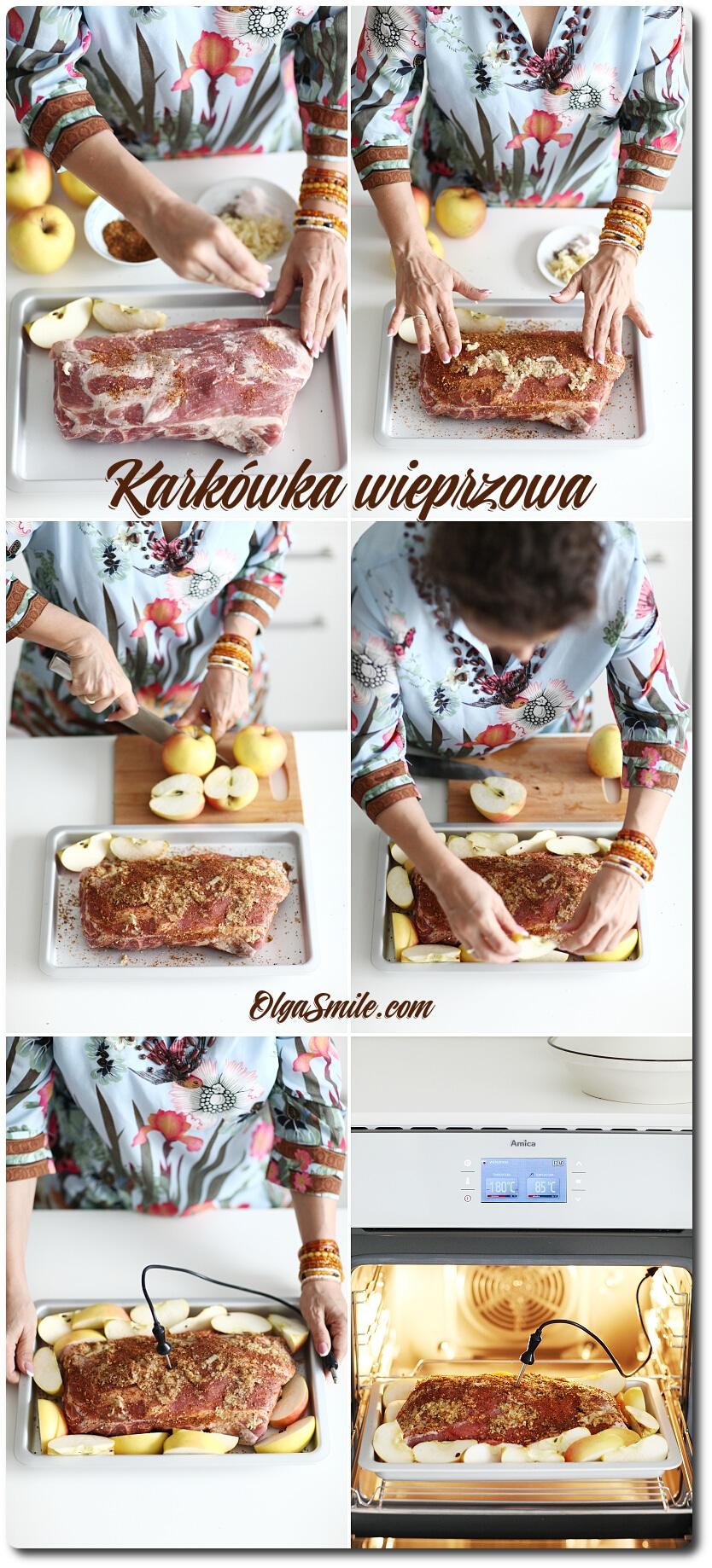 Pieczeń wieprzowa – karkówka z jabłkami!