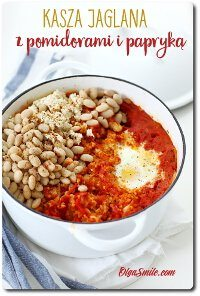 Kasza jaglana z pomidorami