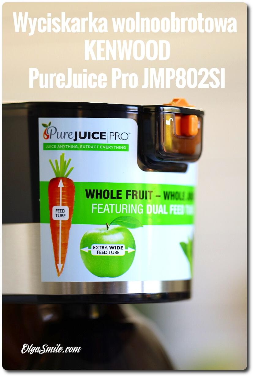 Wyciskarka wolnoobrotowa Kenwood PureJuice Pro JMP802SI