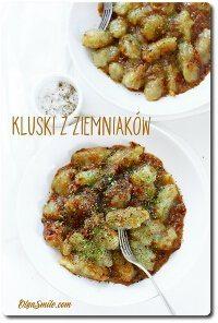Kluski bezglutenowe z ziemniaków