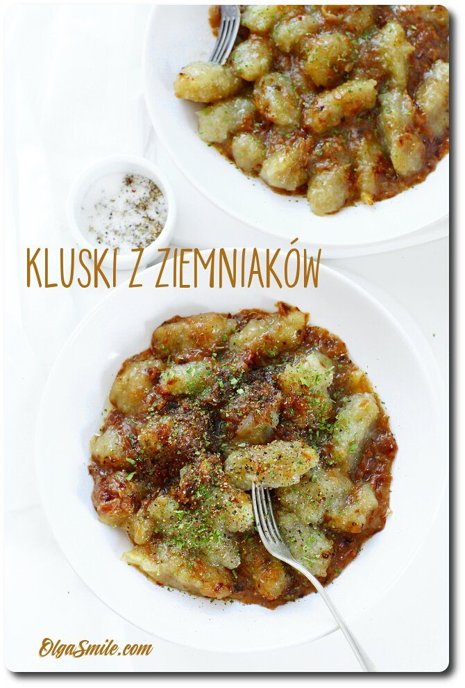 Kluski z ziemniaków przepis