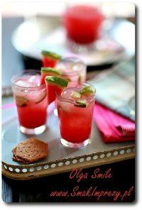 Koktajl arbuzowy z ogórkiem, imbirem i ginem