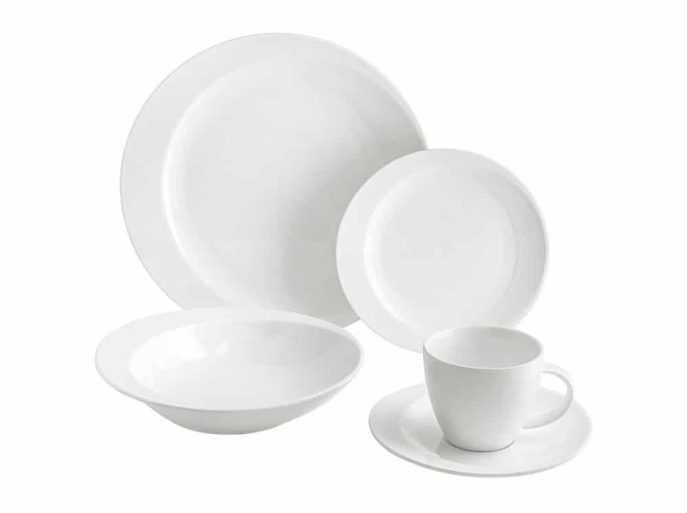 Komplet obiadowy Tiffany 30-elementowy AMBITION
