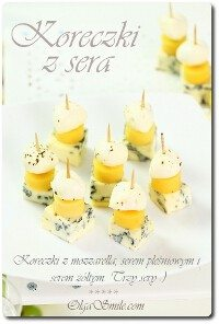 Koreczki z sera