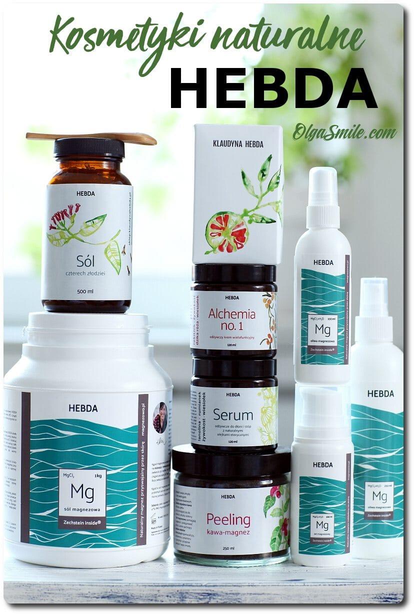 Kosmetyki naturalne HEBDA