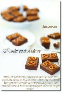 Kostki czekoladowe