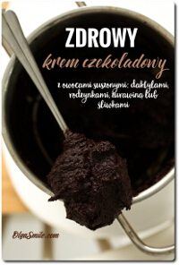 Krem czekoladowy z owocami