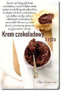 Krem czekoladowy z ryżu