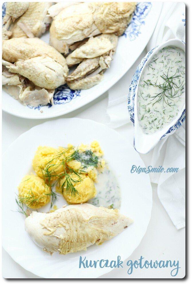 Kurczak gotowany