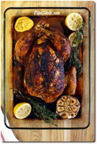 Kurczak pieczony w całości