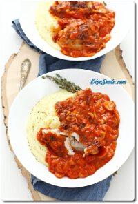 Kurczak w sosie pomidorowym