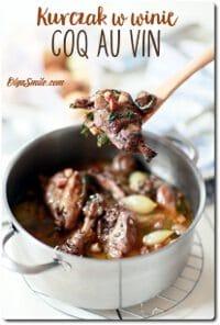 Kurczak w winie coq au vin