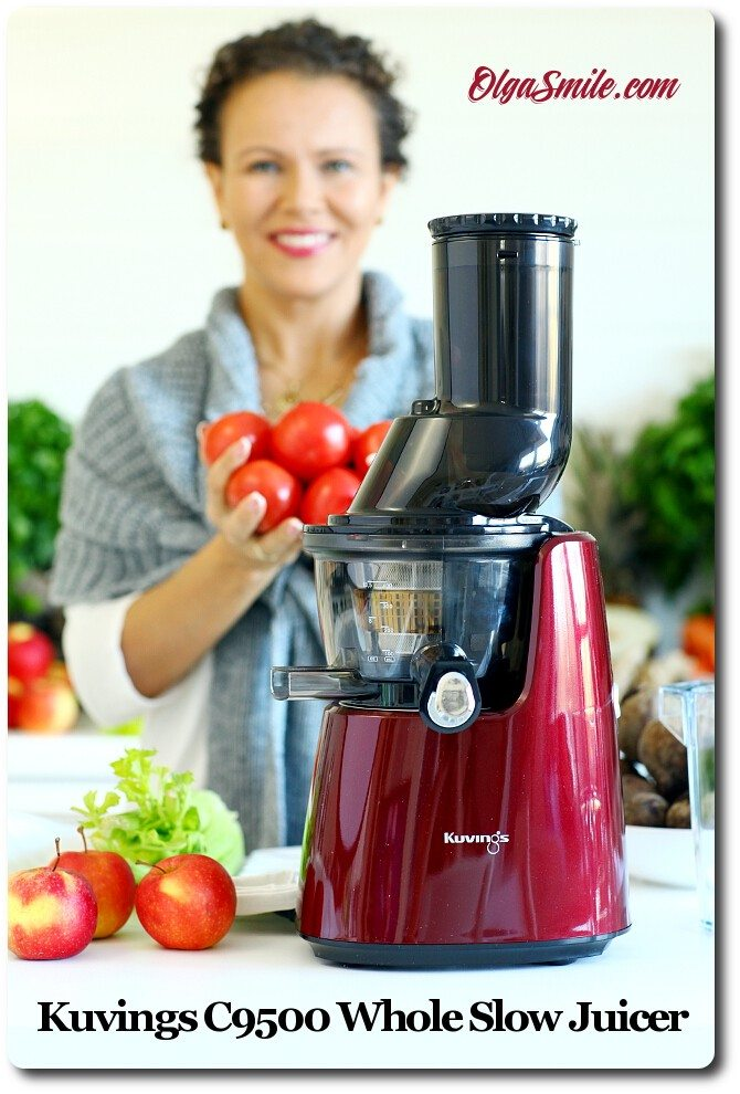 Wyciskarka Kuvings C9500 Whole Slow Juicer : Wyciskarka Kuvings C9500 Whole Slow Juicer Olga Smile