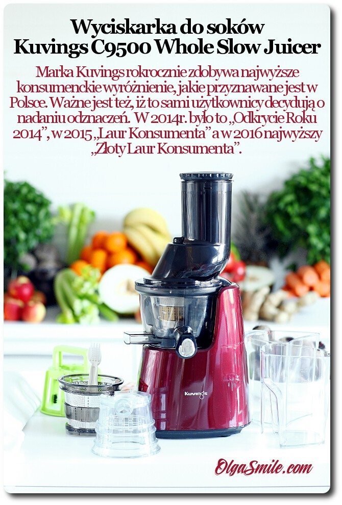 Wyciskarka Kuvings C9500 Whole Slow Juicer