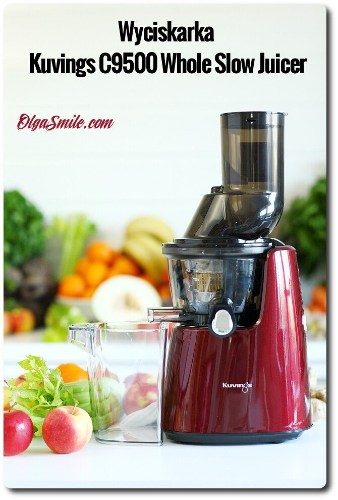Wyciskarka Kuvings C9500 Whole Slow Juicer Olga Smile