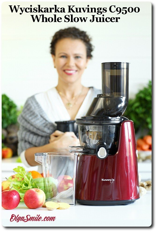 Kuvings Whole Slow Juicer C9500 Test : Wyciskarka Kuvings C9500 Whole Slow Juicer przepis Olga Smile