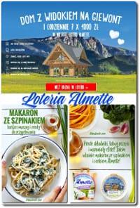 Loteria Almette – DOM Z WIDOKIEM NA GIEWONT