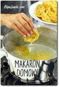 Jak zrobić makaron domowy