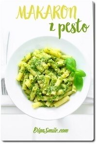 Makaron z pesto