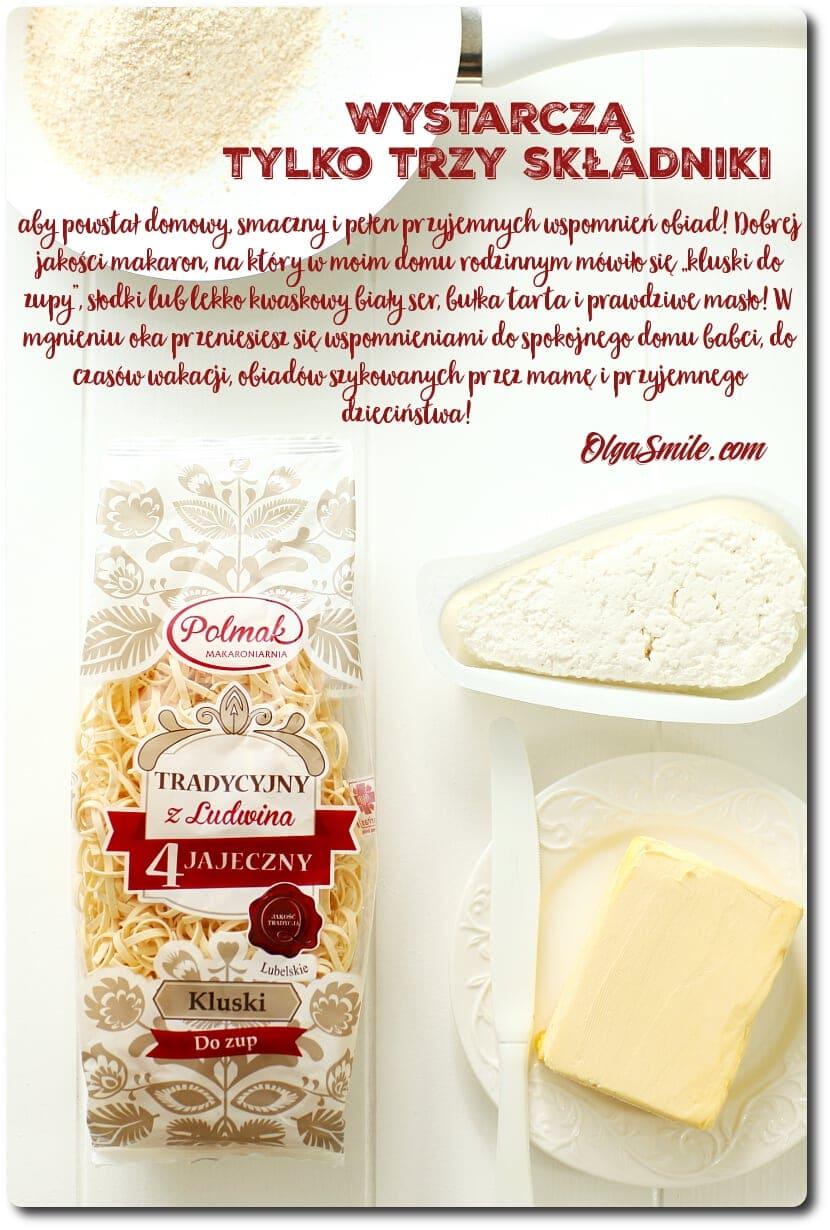 Makaron 4 jajeczny Pol-Mak z serem i bułeczką