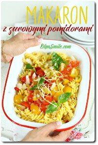 Makaron ze świeżymi pomidorami