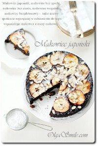 Makowiec japoński - makowiec bez ciasta