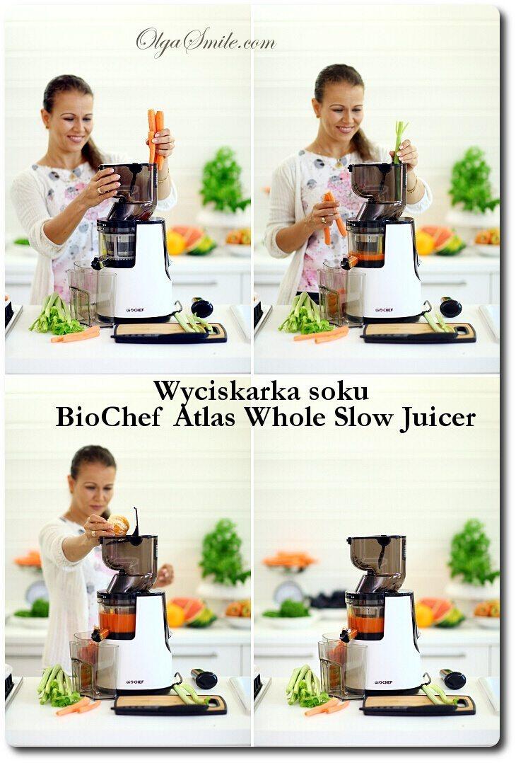 Wyciskarka soku BioChef Atlas Whole Slow Juicer