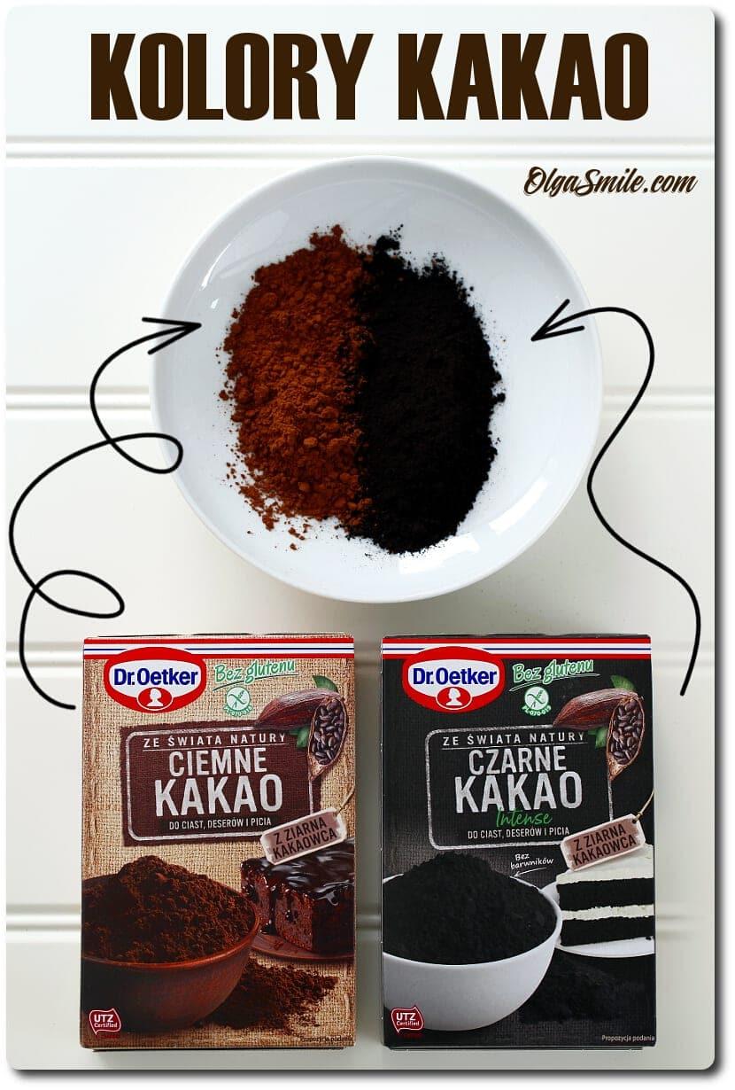 Ciemne Kakao i Czarne Kakao Intense Dr. Oetkera
