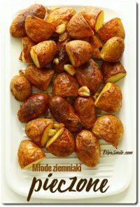 Młode ziemniaki pieczone