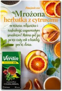 Cytrynowa mrożona herbatka Verdin fix