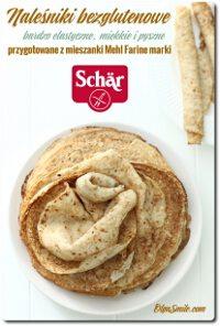 Miesiąc bez glutenu z marką Schär i przepis na naleśniki