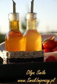 Ocet pomidorowy i oliwa pomidorowa