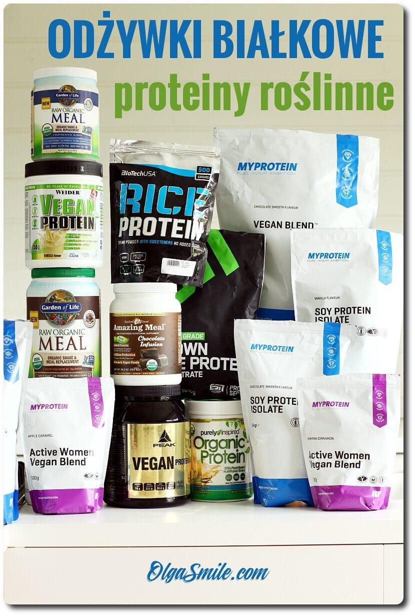 Odżywki białkowe wegańskie