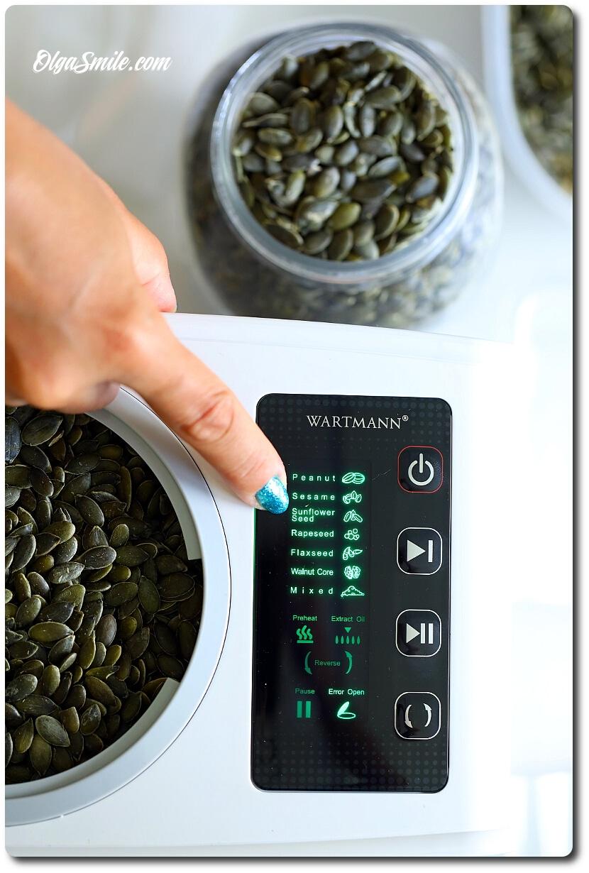 Prasa do oleju WARTMANN III generacji WM-2002OP
