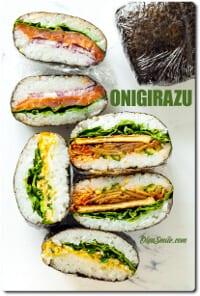 ONIGIRAZU kanapka ryżowa
