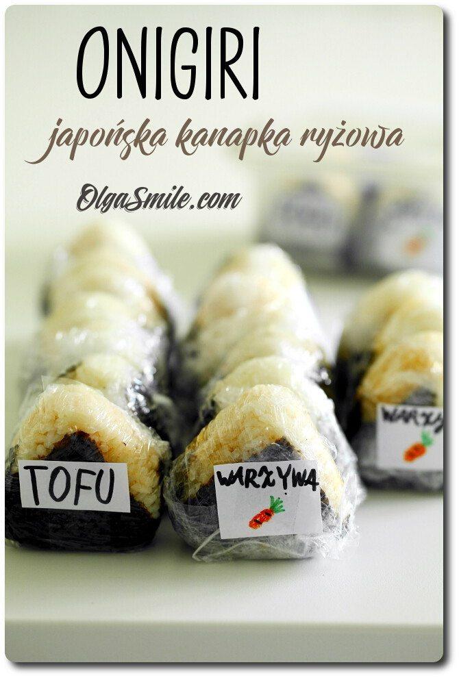 Onigiri japońska kanapka ryżowa