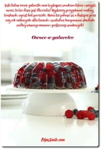 Galaretka z owocami