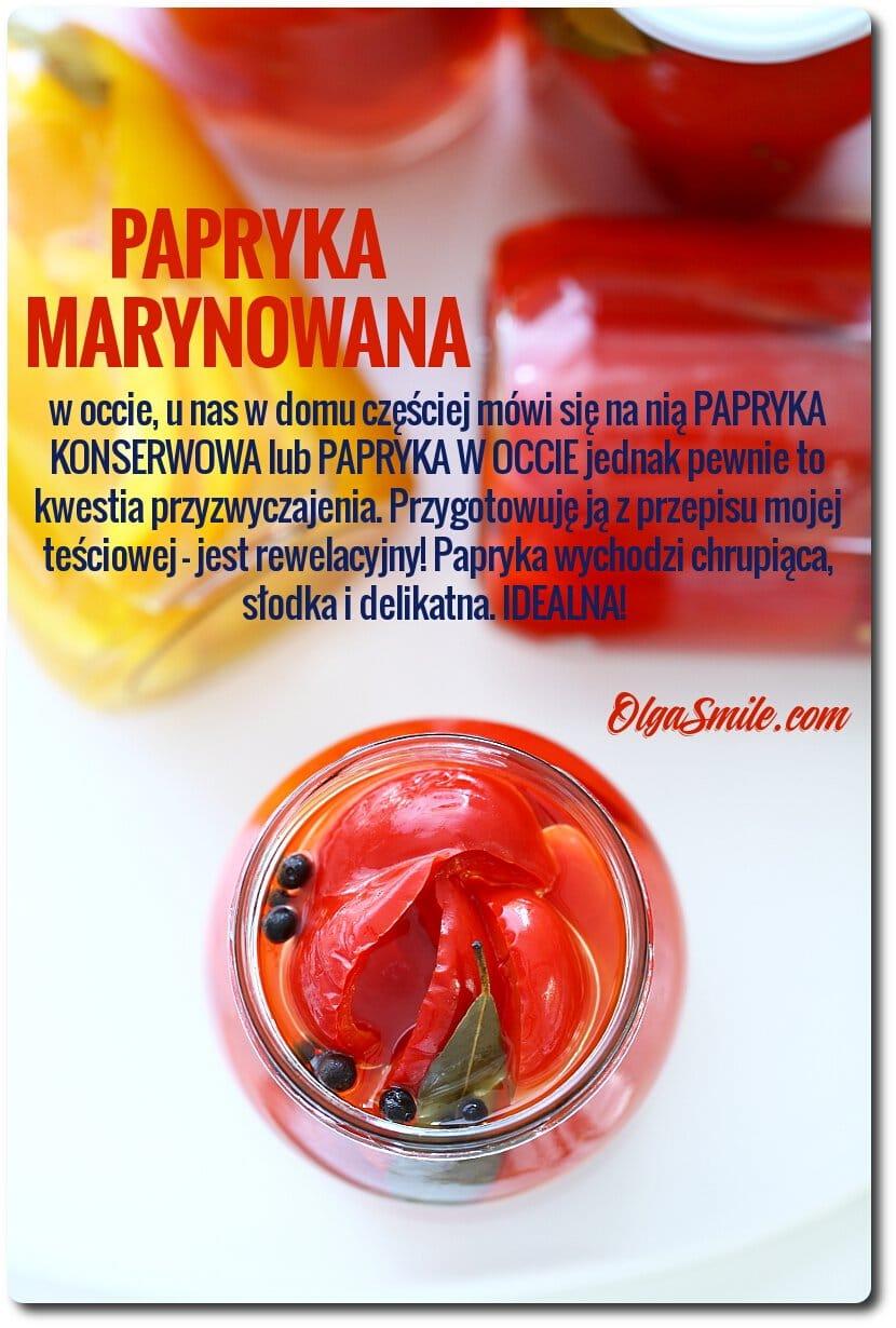 Papryka marynowana